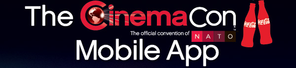 CinemaCon logo, Mobile App,
